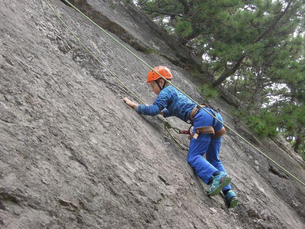 Klettersteig Wien : Hochkar klettersteig bergmandl heli kraft im test schöner einstieg
